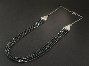 hematite necklace toronto handmade jewellery