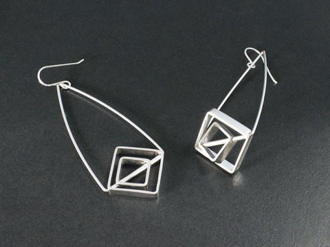 Geometric Flip Earrings