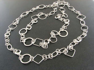 Shapes Chain Necklace