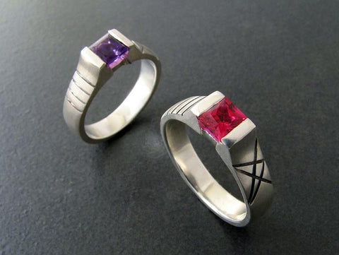 Stars and Stripes Rings