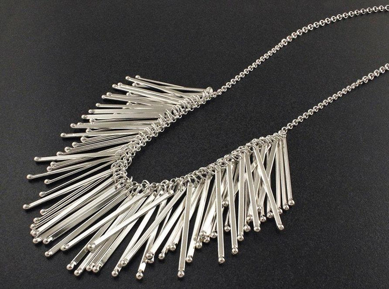 fringe necklace handmade in toronto jewellery