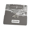 willowdale toronto map pendant necklace