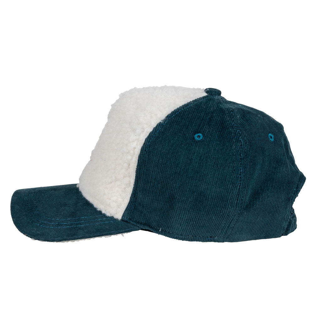 Corduroy & Fleece Baseball Hat