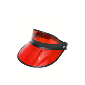 Red Dart Visor Hat