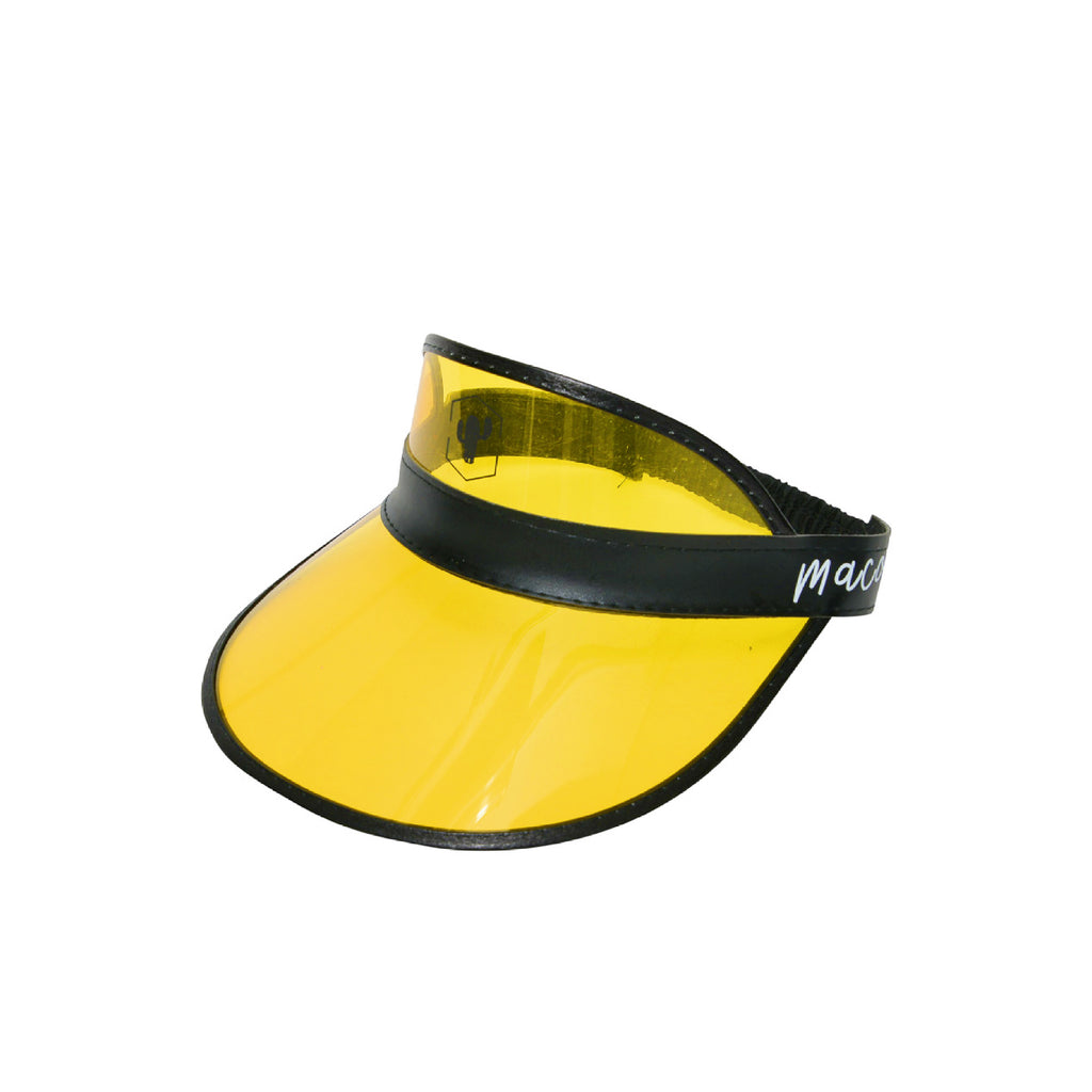 Black 'n Yellow Visor Hat