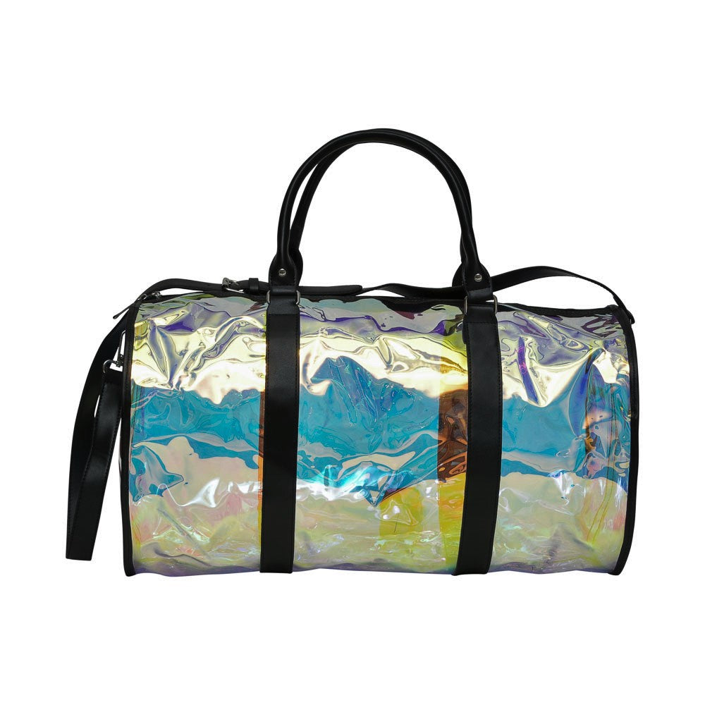 Hologram Transparent Duffel Bag