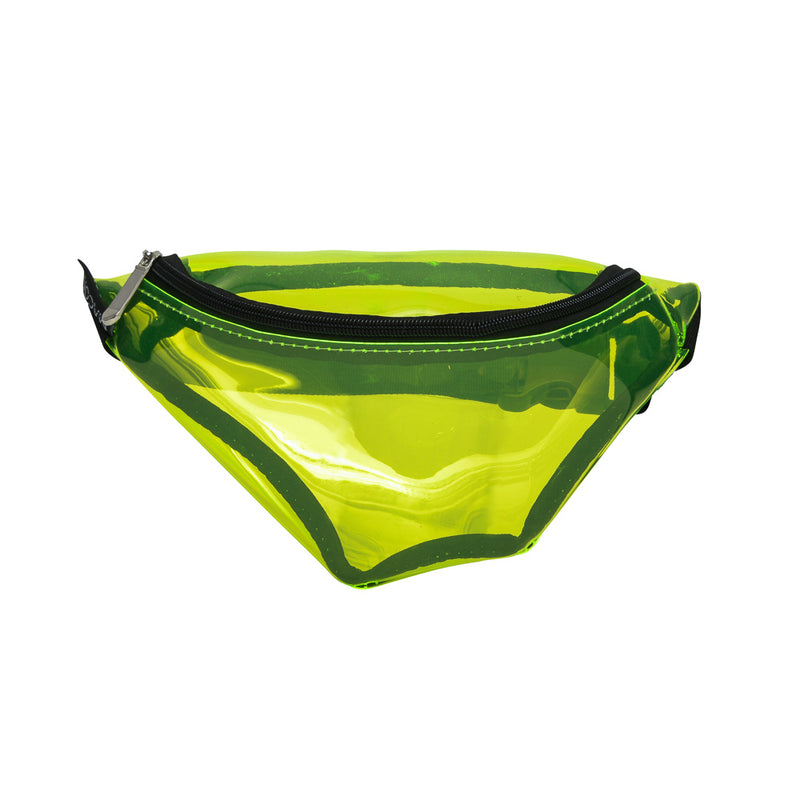 Neon Lime Transparent Waist Bag