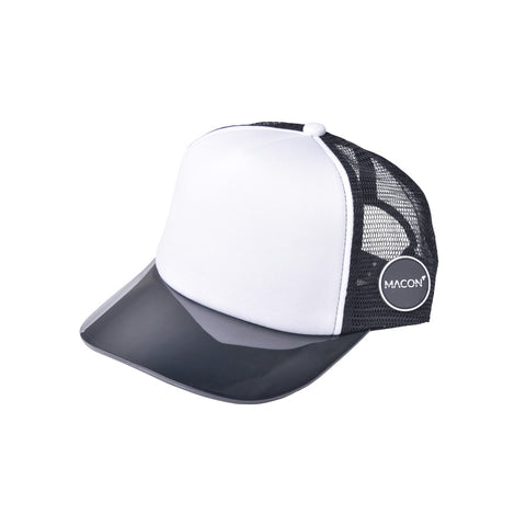 Pirate Black Trucker Hat