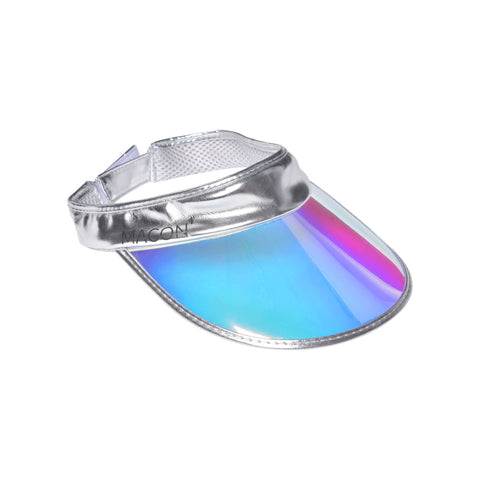 Pink Metallic Visor Hat