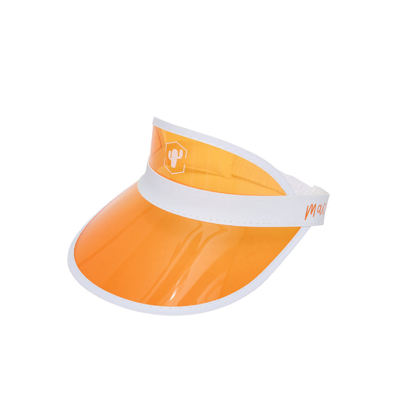 Orange Muffin Visor Hat
