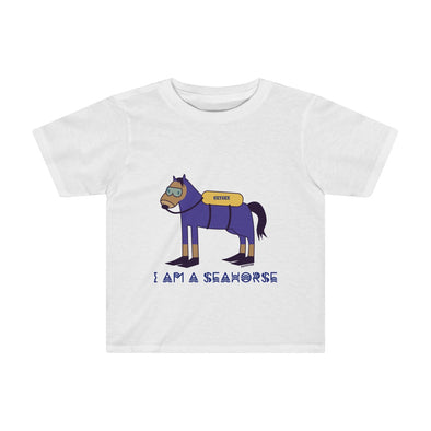 """I Am A Seahorse"" Children's T-Shirt - OUTFITEE"