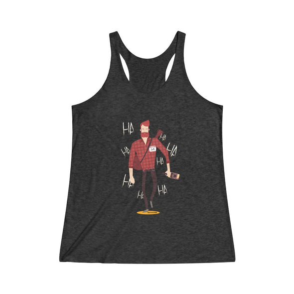 """A Boy Named Sue"" Women's Tri-Blend Racerback Tank - OUTFITEE"