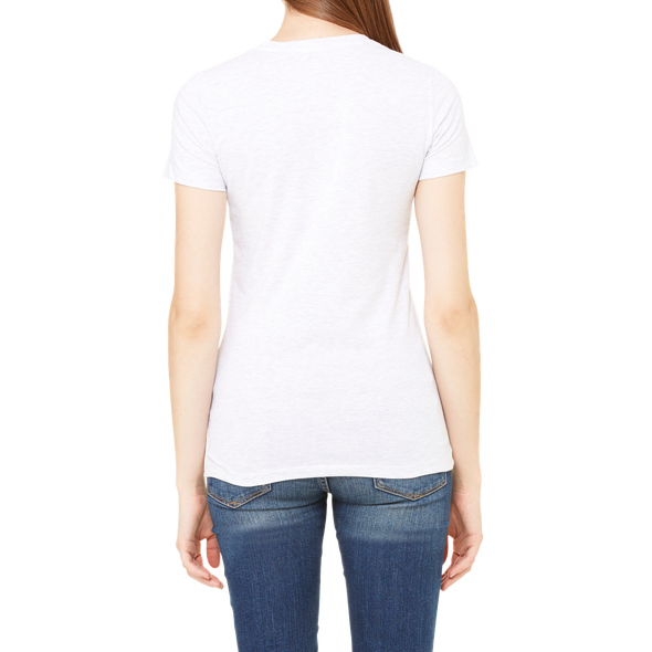 """Decide To Be An Angel"" Women's Slim Fit Tee - OUTFITEE"
