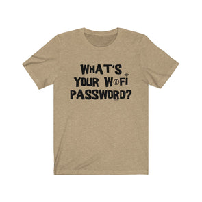 """What's Your WiFi Password?"" Men's T-Shirt - OUTFITEE"