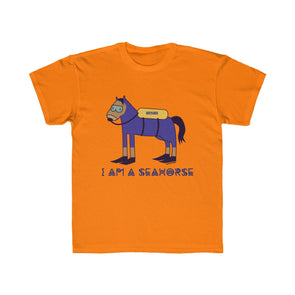 """I'm a Seahorse"" Kids Regular Fit T-Shirt (UNISEX) - OUTFITEE"