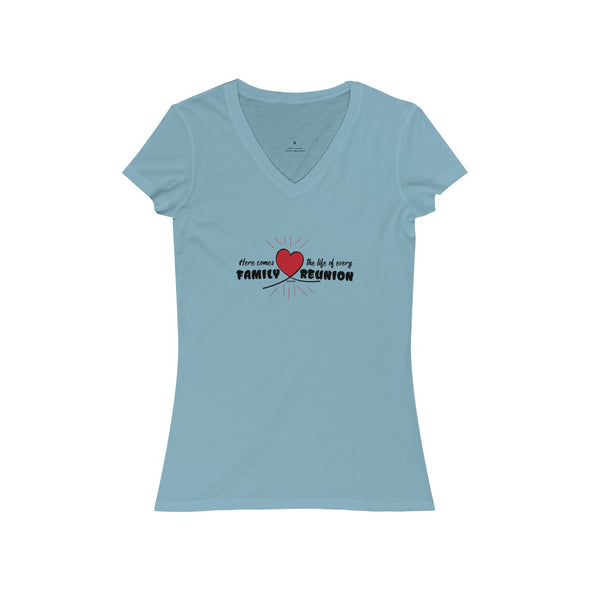 """Life of the Family Reunion"" Women's V-Neck Tee - OUTFITEE"