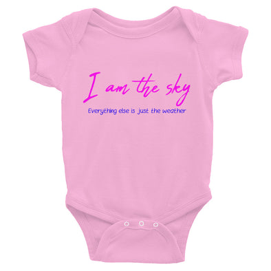 """I Am The Sky"" Infant Bodysuit (4 colors) - OUTFITEE"