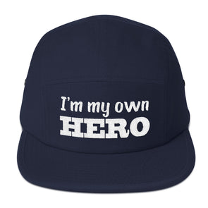 """I'm My Own Hero"" 5 Panel Camper - OUTFITEE"