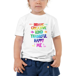 """I Am"" Toddler Short Sleeve Tee - OUTFITEE"