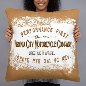 Motorcycle Company Home Decor Pillow