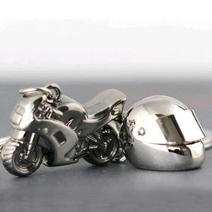 Motorcycle and Helmet Keychains Virginia City Motorcycle Company