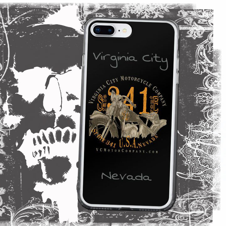 Motorcycle named Ada - iPhone Case 8 and 8 plus Phone Case Virginia City Motorcycle Company Apparel