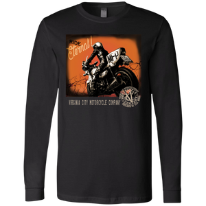 Ride Eternal - Men's Long Sleeve Jersey T-Shirt Men's Long Sleeve Virginia City Motorcycle Company Apparel