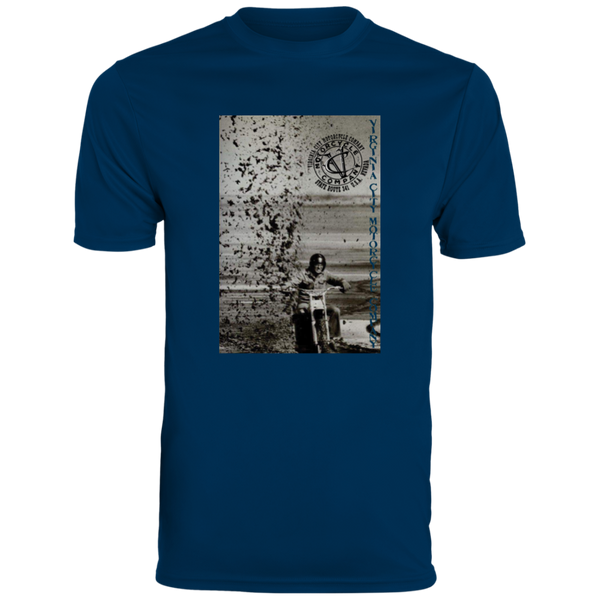 Men's Dirt Bike Rooster Tail Wicking T-Shirt Men's T-Shirt Virginia City Motorcycle Company Apparel