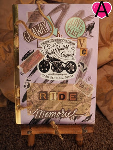 Motorcycle Riding Journal Journal Virginia City Motorcycle Company Apparel