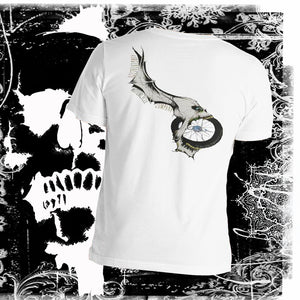 Eat This Fkr! - Men's Motorcycle Skull T-shirt Men's T-Shirt Virginia City Motorcycle Company Apparel