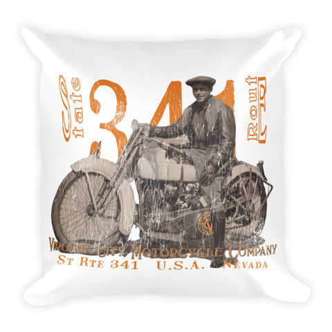 "J-Model Harley ""Polly"" - Filled Motorcycle Pillow pillow Virginia City Motorcycle Company Apparel"
