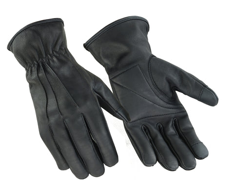 DS60 Premium Water Resistant Padded Palm Glove Men's Lightweight Gloves Virginia City Motorcycle Company Apparel