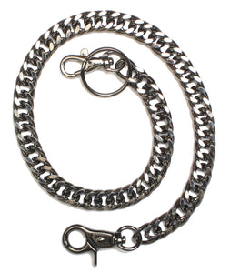 J2002 20-Inch Gun Metal Wallet Chain Wallet Chains/Key Leash Virginia City Motorcycle Company Apparel