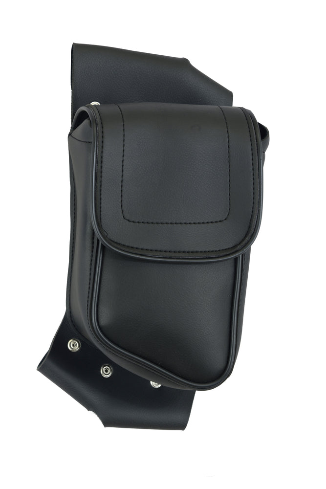 DS5827L Crash Bar Bag - Left Side Crash Bar Bags Virginia City Motorcycle Company Apparel