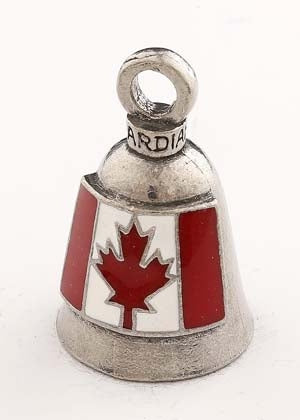 GB Canadian F Guardian Bell® Canadian Flag Guardian Bells Virginia City Motorcycle Company Apparel