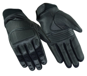 DS56 Heavy Duty Leather Sporty Glove Men's Lightweight Gloves Virginia City Motorcycle Company Apparel