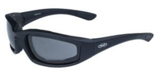 Kickback-SM Kickback Foam Padded Smoke Lenses Sunglasses Virginia City Motorcycle Company Apparel