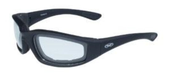 Kickback-CL Kickback Foam Padded Clear Lenses - 1212 Sunglasses Virginia City Motorcycle Company Apparel