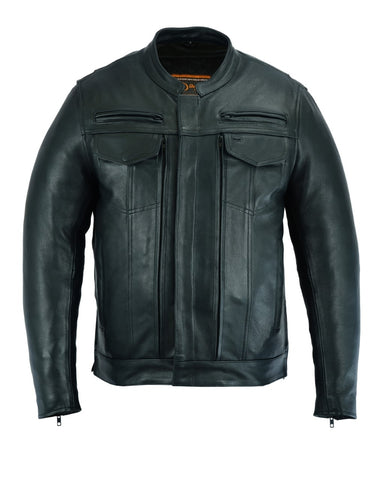 DS787 Men's Modern Utility Style Jacket Men's Jackets Virginia City Motorcycle Company Apparel