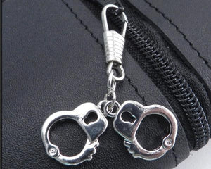 Z-CUFFS Zipper Pull Mini Cuffs Zipper Pulls Virginia City Motorcycle Company Apparel