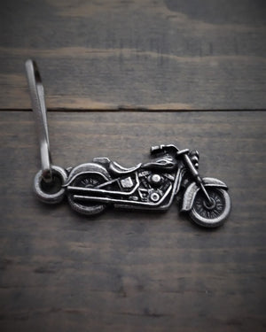 BZP-22 Motorcycle Zipper Pull Zipper Pulls Virginia City Motorcycle Company Apparel
