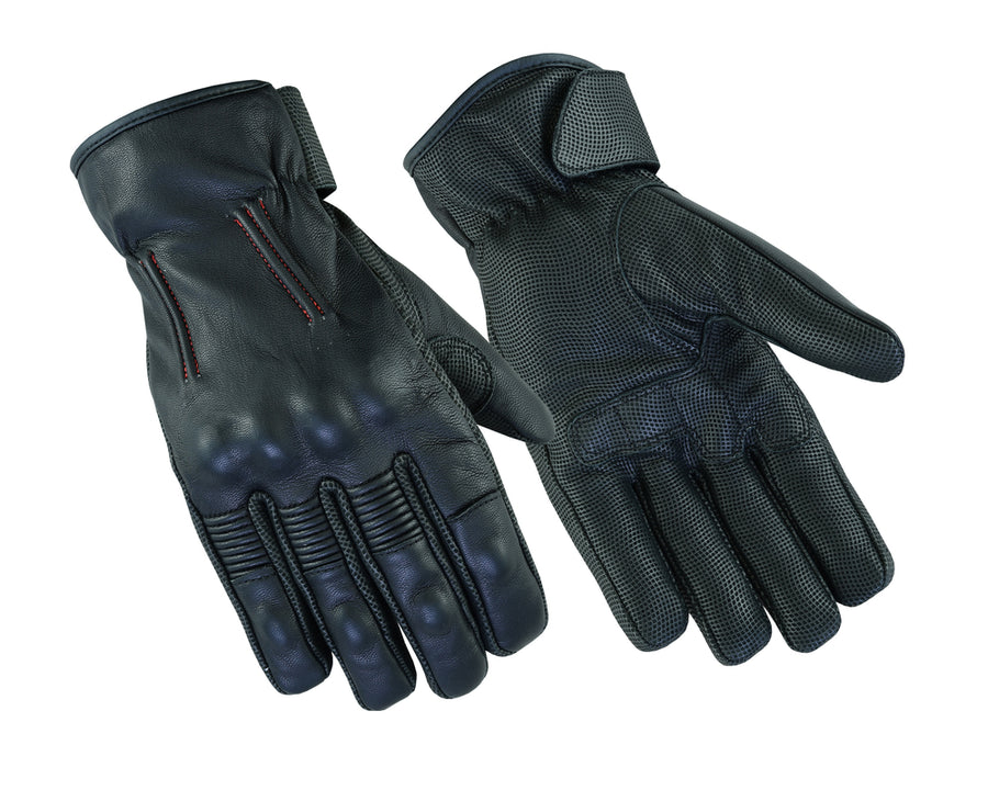 DS94 Men's Feature-Packed Rakish Glove Men's Lightweight Gloves Virginia City Motorcycle Company Apparel