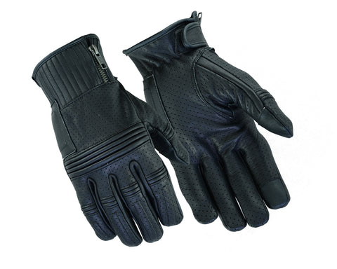 DS93 Premium Perforated Operator Glove Men's Lightweight Gloves Virginia City Motorcycle Company Apparel
