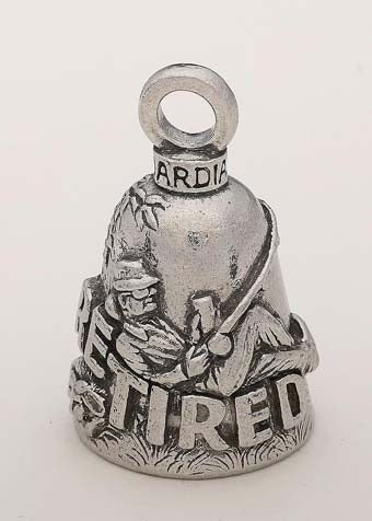 GB Retired Man Guardian Bell® GB Retired Man Guardian Bells Virginia City Motorcycle Company Apparel