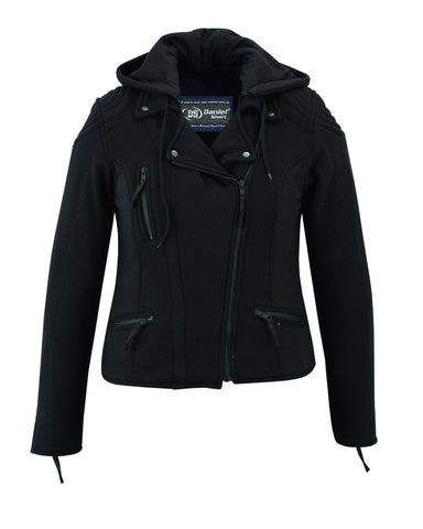 Women's Operative Windproof Reinforced Riding Jacket - DS825 Women's Jackets Virginia City Motorcycle Company Apparel