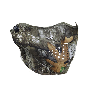 ZAN Neoprene Half Face Mask, Realtree Edge(tm) - WNFM301H Half Facemasks Virginia City Motorcycle Company Apparel