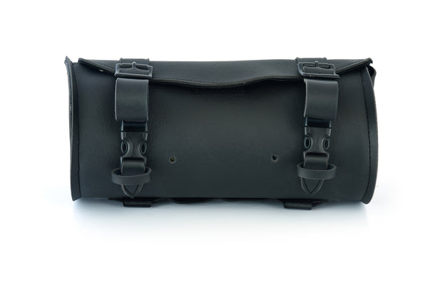 Black Construction Two Strap Motorcycle Tool Bag - DS5455 Tool Bags Virginia City Motorcycle Company Apparel