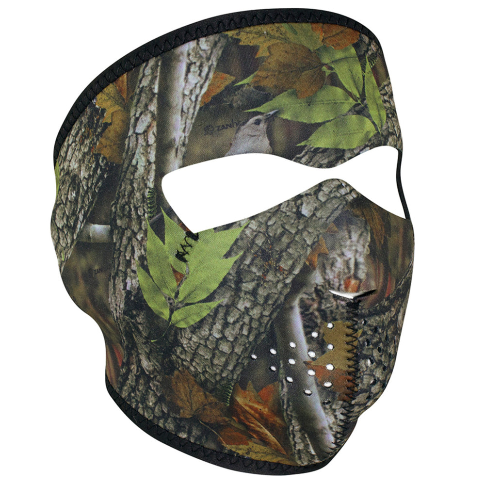 ZAN® Full Mask- Neoprene- Forest Camo - WNFM238 Full Facemasks Virginia City Motorcycle Company Apparel