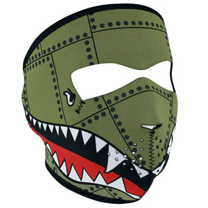 ZAN® Full Mask- Neoprene- Bomber - WNFM010 Full Facemasks Virginia City Motorcycle Company Apparel