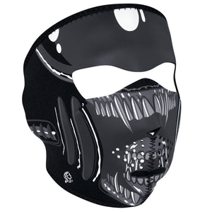 WNFM039 ZAN® Full Mask- Neoprene- Alien Full Facemasks Virginia City Motorcycle Company Apparel